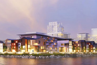 Waterfront Townhouses